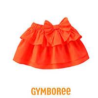 Юбка Gymboree (оранж) 12-18М