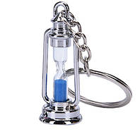 Брелок пісочний годинник у вигляді гасової лампи метал SKU0000646