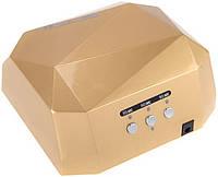 Лампа для сушки гель-лака MirAks MA-3618 Golden (Золото/CCFL+LED/36W (12W CCFL+24W LED))