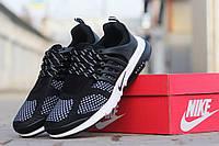 Кроссовки Nike Air Presto мужские черные с белым
