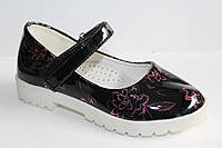 Детские Весенние туфли оптом на девочек от фирмы Солнце (разм. с 27-по 32) 8 шт