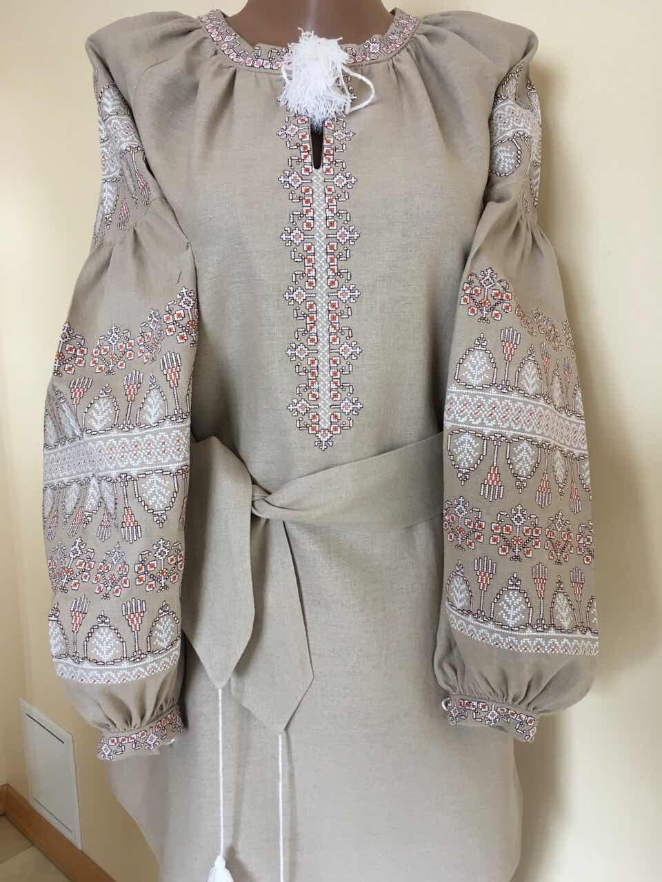 f6a8c41e700f27 Жіноча вишиванка сукня в стилі Бохо 50 розмір: продажа, цена в Івано ...