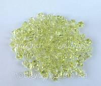 Акриловые кристаллы_салатовый 20шт.