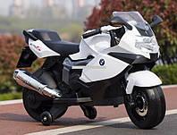 Детский мотоцикл на аккумуляторе BMW Z 283-1-2, уникальный белый