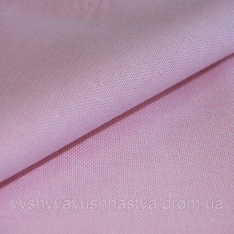 Ткань для вышивки крестиком. Оникс. Рожева цукерка.