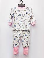 Трикотажная пижама Китти,плотный интерлок