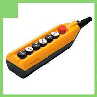 Пульт управления 7 кноп. (аварийный стоп d=30mm) (2 скорости) PV7E30B444 EMAS