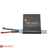 Соединительный провод ПВС ElectroHouse  2*2,5