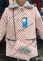 Оригинальное детское пальто с сумочкой 51391