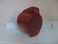 Розетка кабельная (переносная) 32А/4  3P+PE