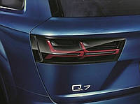 Тонированные Фонари для Audi Q7 4M 15-2017  Новые Оригинальные