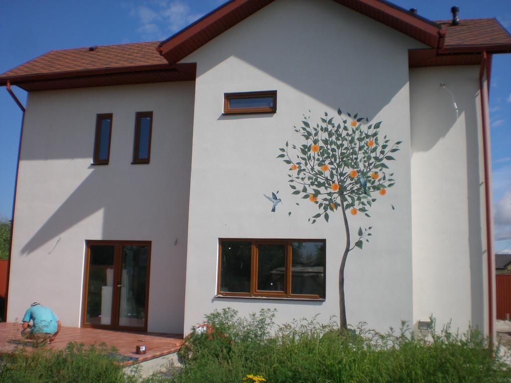 Наши материалы, работы и результаты на примере дома из SIP-панелей! 1