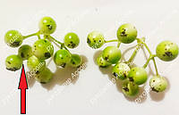 Ягоды зелёный с белым пучок 9 ягод Отбраковка!!!