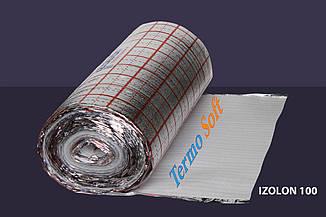Вспененный полиэтилен НПЭ ламинированный с разметкой, толщина полотна - 3мм