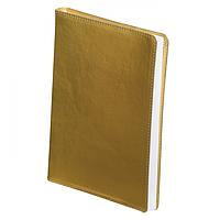 Ежедневник недатированный Buromax METALLIC, A5, 288 стр. золотой (BM.2033-23)