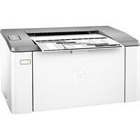 Принтер лазерный ч/б A4 HP LaserJet Ultra M106w (G3Q39A), White, 600x600 dpi, до 22 стр/мин, Lan / U