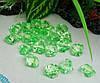 Акриловые кристаллы_зеленые 10шт.