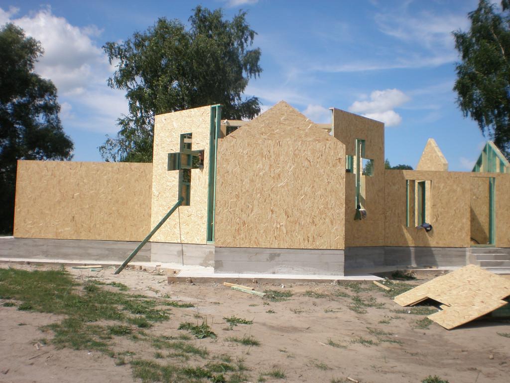 Возведения небольшой церкви 1
