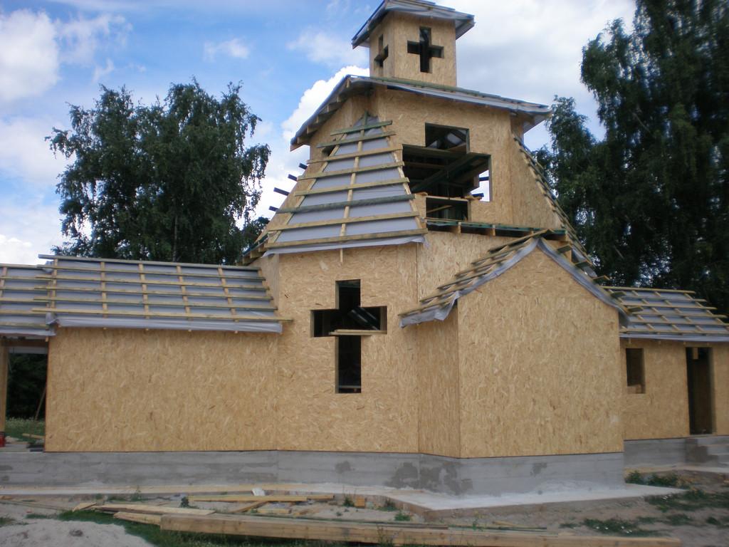 Возведения небольшой церкви 3