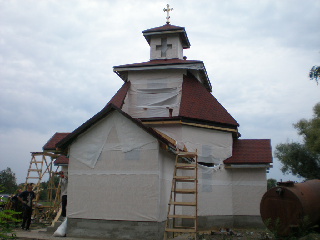 Возведения небольшой церкви 4
