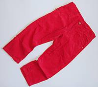 Красные вельветовые брюки для девочек