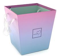 Подарочная упаковка для цветов 17X17X17cm (Код: Gifts-box-190-1)
