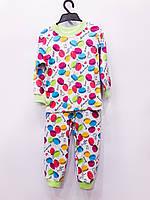 Трикотажная пижама Пироженки,плотный интерлок