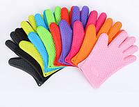 Силиконовые жароустойчивые перчатки для кухни
