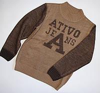 Акриловый свитер для мальчика