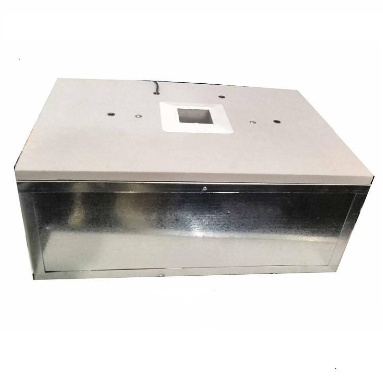 Инкубатор Наседка на 70 яиц  аналоговый терморег-р, механический переворот, корпус металлический