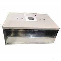 Инкубатор Наседка на 70 яиц  аналоговый терморег-р, механический переворот, корпус металлический, фото 1