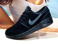 Кроссовки женские Nike stefan janoski черные 38 р.