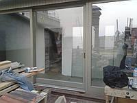 Замена стеклопакета в окнах и дверях из евробруса