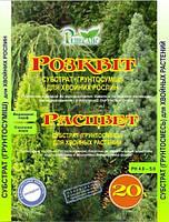 Субстрат Расцвет для хвойных растений, 20л., фото 1
