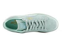 Кроссовки женские puma classic suede mono iced blue. Пума суед, магазин обуви
