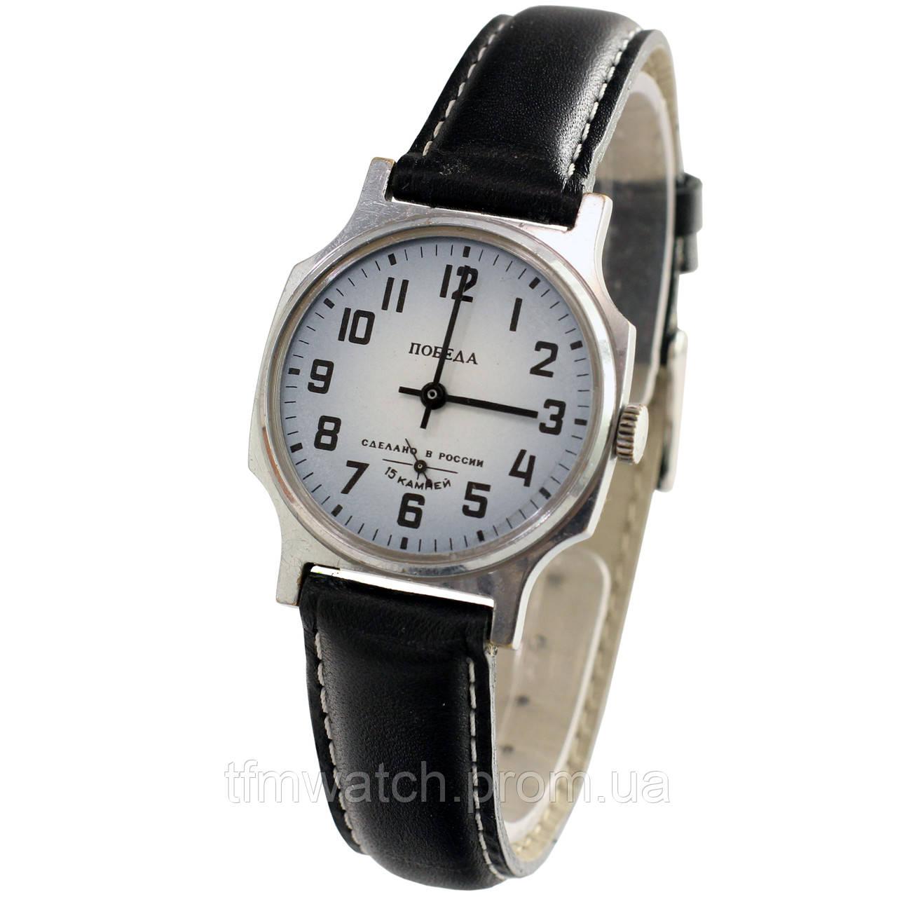4fcfc0ab Часы Победа 15 камней сделано в России - 苏联的手表 - Магазин старинных,  винтажных