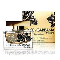 Парфюмированная вода Dolce & Gabbana The One Lace Edition 75мл