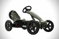 Веломобиль Jeep Adventure pedal  go-kart