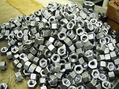 Гайки шестигранні ГОСТ 5915-70, DIN 934, DIN 985, DIN 6915, DIN 936, DIN 439, DIN 935, DIN 562, DIN 6334,, фото 2