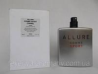 Тестер Туалетная вода Chanel Allure Homme Sport 100мл