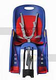 Велокресло для перевозки детей  до 22кг, фото 3