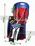 Велокресло для перевозки детей  до 22кг, фото 4