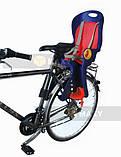 Велокресло для перевозки детей  до 22кг, фото 7