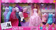 Кукла DEFA 8193 с нарядами