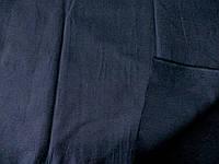 Поплин - стрейч (т. синий) (арт. 12214) отрез 0,69 м