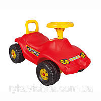 Машинка-каталка для детей (красный цвет)