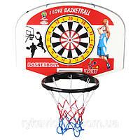 Дарт с баскетбольным кольцом