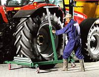 Тележка гидравлическая для снятия колес грузовых автомобилей WD1500 Compac Дания