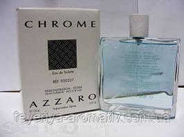 Тестер Туалетная вода Azzaro Chrome 100мл