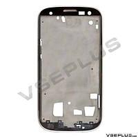 Рамка дисплея Samsung I9300 Galaxy S3, серебряный